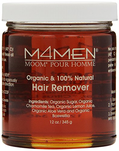 Moom para hombres cabello orgánicos removedor recarga, frasco de 12 onzas