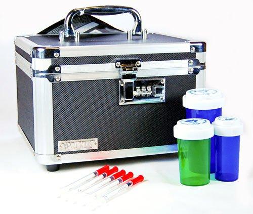 """Medicación de deber pesado caja de seguridad con combinación (dimensiones internas: 5,75 '' H x 8,75"""" W x 7,50"""" D)"""