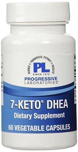 Laboratorios progresiva 7-Keto DHEA suplemento, cuenta 60