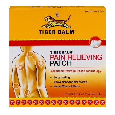 Tiger Balm para aliviar el dolor Patch - 5 CT