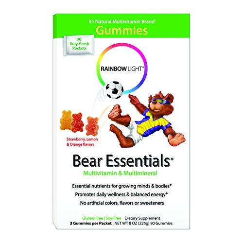 Arco iris luz Gummy Bear Essentials multivitamínico y Multimineral, 30 cuentan solo sirven los paquetes