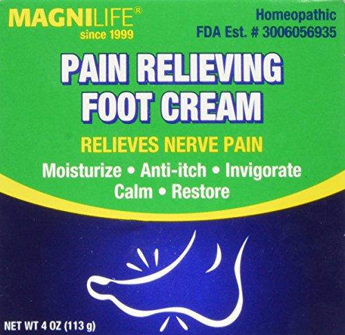 Dolor MagniLife alivio del pie crema 4 oz