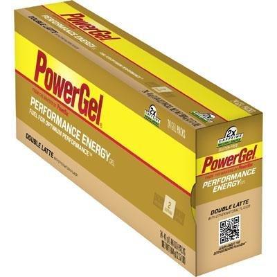Poder de PowerBar Gel C2 MAX - caja de 24 - Latte doble - doble cafeína