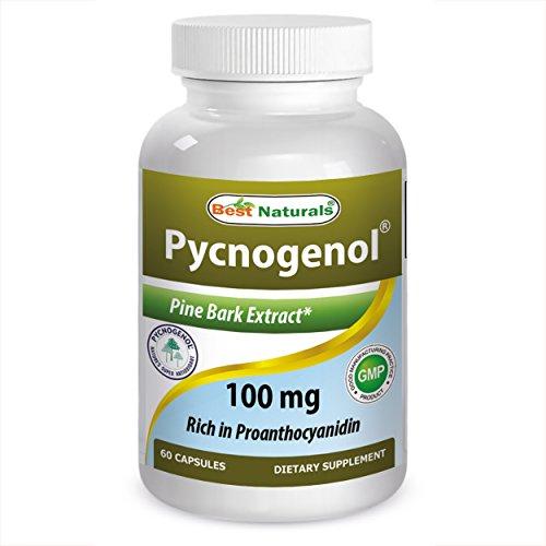 Mejor Naturals Pycnogenol 100 mg, 60 cápsulas