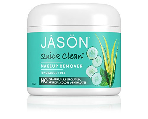 JASON Quick Clean Makeup Remover, pastillas de 75