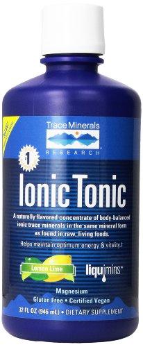 Liquimins, Mineral tónico iónico concentrado, limón, 32 onzas