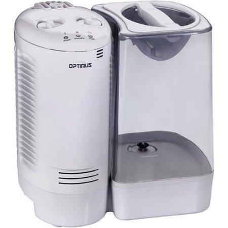 Optimus 3.0 galones Warm humidificador de vapor con sistema de vapor Wicking