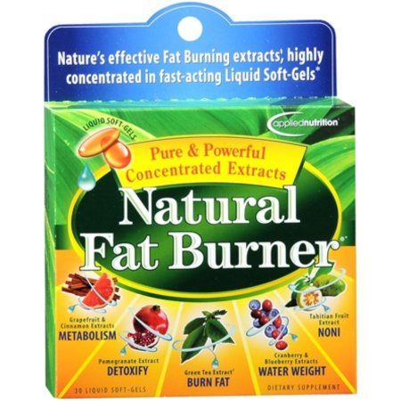 APPLIED NUTRITION Fat Natural Quemador Liquid Cápsulas Blandas de 30 geles suaves