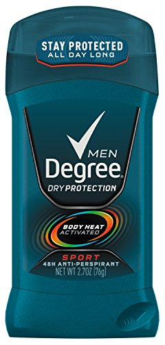 Degree Men antitranspirante y desodorante, deporte 2,7 oz