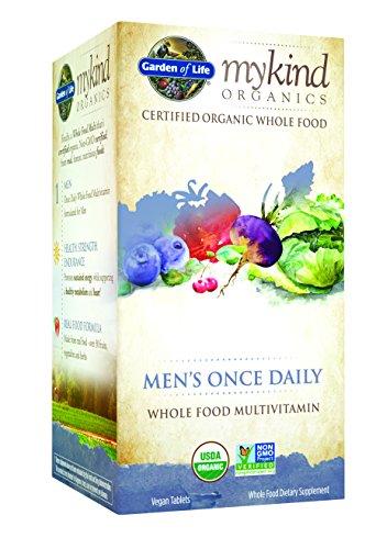 Una de jardín de la vida mykind orgánicos los hombres vez al día, c 60 tableta orgánica