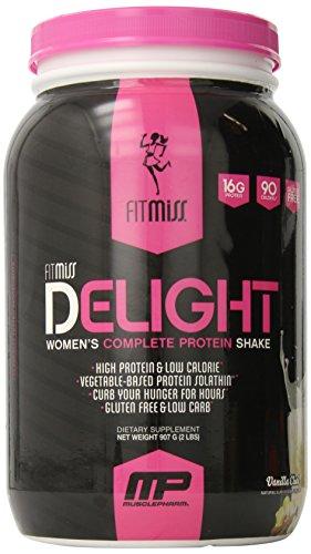 Fitmiss delicia nutricional Shake, Chai vainilla, 2 libras