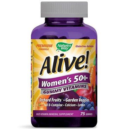 Nature's Way ¡Viva- de las mujeres mayores de 50 años Gummy vitaminas 75 Ct