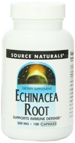Source Naturals Echinácea 500mg, 100 cápsulas