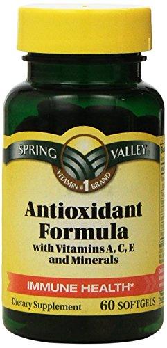 Antioxidante de Spring Valley (cuenta 60)