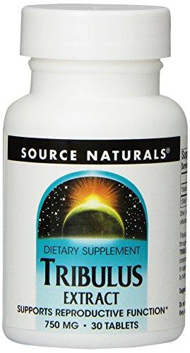 Source Naturals Tribulus, 750mg, 30 comprimidos (paquete de 2)