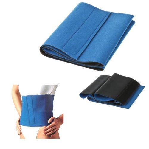 Adelgazamiento cintura Trimmer cinturón de ejercicio quema grasa forma Sauna sudor pérdida de peso