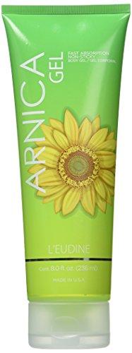 L'eudine árnica Gel, 8 fl oz con vitaminas A y E, aceites de hierbas y extracto de árnica