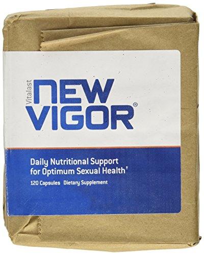 NewVigor® apoyo nutricional diario para una Salud Sexual óptima, 120 cápsulas