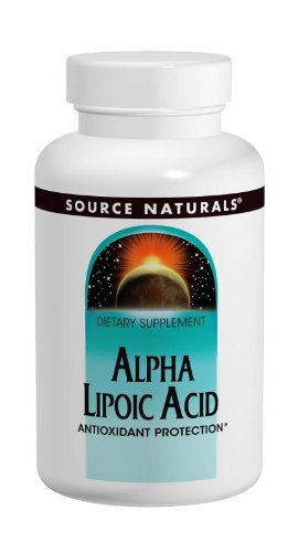 Source Naturals alfa lipoico 100mg, 120 cápsulas