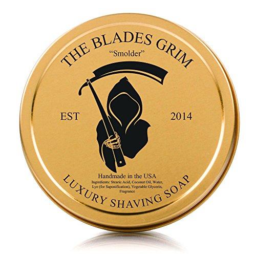"""El jabón de afeitar cuchillas sombrío lujo oro - """"Smolder"""""""