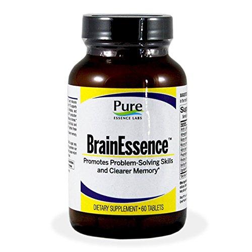 Pura esencia Labs BrainEssence - promueve la solución de problemas habilidades y memoria más claro - 60 comprimidos