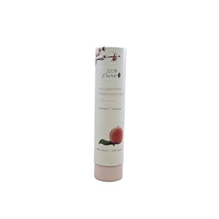 100% Pure: Fruit pigmentado Tinted Moisturizer con SPF 20: Crema, 1,7 oz, todos naturales, Fórmula Orgánica, incluye cafeína rico té verde, café verde y vitaminas anti envejecimiento potentes