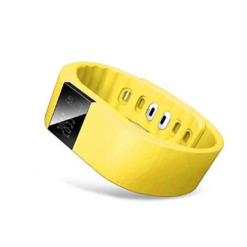 Malloom Bluetooth elegante reloj de pulsera Sport a poca distancia podómetro saludable sueño Monitor resistente al agua