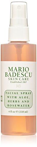 Mario Badescu Facial Spray con Aloe, hierbas y agua de rosas, 4 oz.