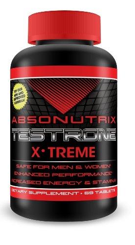Hombres y mujeres de Absonutrix Xtreme aguante Testrone - 69 tabletas