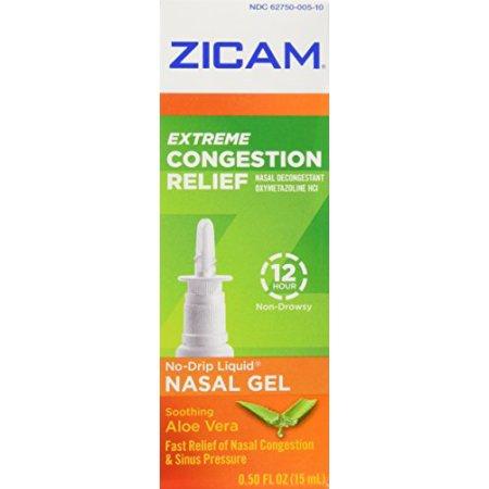 Zicam extrema congestión nasal Relief Liquid Gel 050 oz Cada
