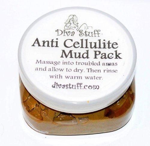 Anti celulitis Pack de barro con arcilla de mar muerto, café molido, alholva, enebro y más cosas de Diva de Kym