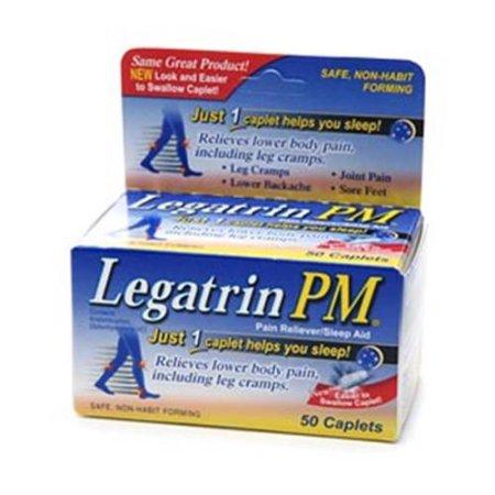Legatrin PM Caplets 50 Caplets (Pack de 3)