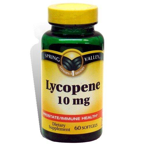 Spring Valley salud próstata / inmune licopeno 10 mg 60ct