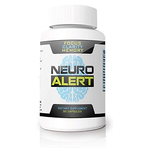 Neuro alerta - impulsar su memoria, enfoque y concentración habilidades saludables * Haz cosas hecho & dejar olvidar nombres, rostros y tareas * disfrute cognitivo claridad sin la 'niebla del cerebro' * potente combinación de antioxidantes y aminoácid