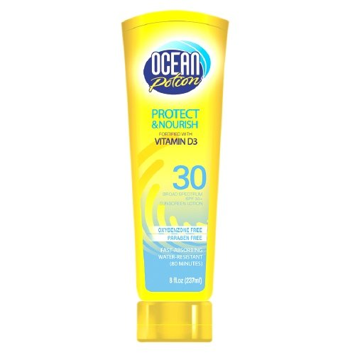 Océano poción Sunscreen SPF 30, 8 Fl Oz / 237 Ml (Pack de 2)