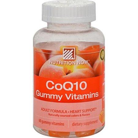 Nutrition Now ™ CoQ10 gomoso Suplemento 60 ct. Botella