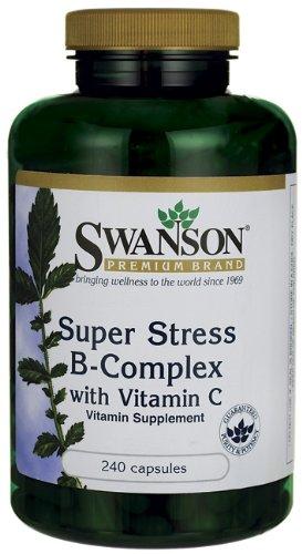 Súper estrés complejo B con vitamina C 240 Caps