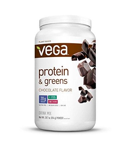 Proteína de la Vega y verdes, Chocolate, bañera de hidromasaje, oz 28,7