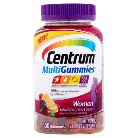 Centrum MultiGummies multivitamínico - multimineral Suplemento para mujeres 150 ct