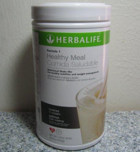 Herbalife F1 galletas y crema batido, 26,4 onzas