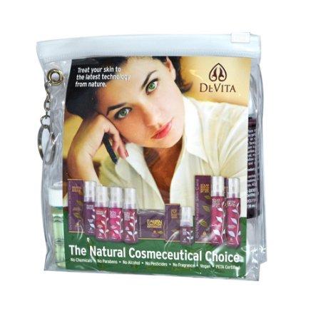DeVita - Cuidado de la Piel Natural Try Me Kit para anti envejecimiento de la piel