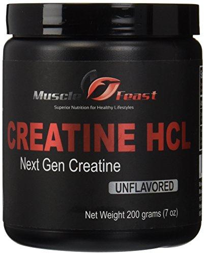 Músculo fiesta creatina HCl (200 gramos)