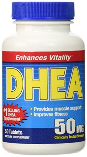 DHEA 50mg, 50 tabletas