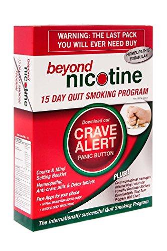 Más allá de nicotina 15 día dejar de fumar programa curso y mente ajuste manual homeopatía píldoras anti-crave y desintoxicación tabletas aplicaciones gratuitas para sus mensajes motivacionales Hypno inducción Audio guía guía profunda respiración diaria d