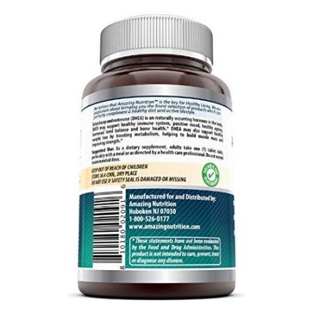- Suplemento DHEA 25 mg 240 tabletas