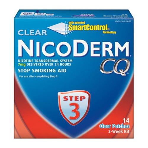 Nicoderm CQ fumar cese parche con 7mg ct 14