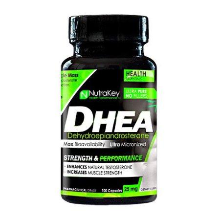 Nutrakey DHEA 25mg 100Caps