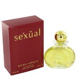 Sexual por Michel Germain Eau De Parfum Spray (caja roja) 2,5 onzas para las mujeres