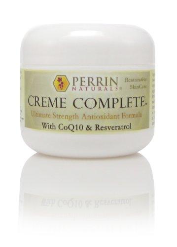 Crema cuidado de la piel completa - todo Natural, reconstituyente y Anti-Aging. Una crema hidratante correctora de arrugas, daño solar y liquen escleroso.