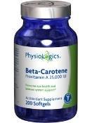 Provitamina A de betacaroteno 25000 IU 200 cápsulas